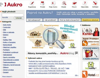 aukro partnerský program